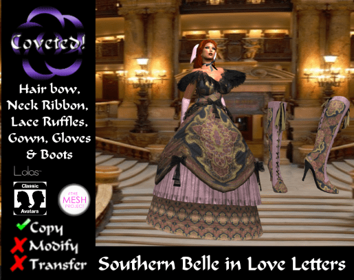 Southern Belle in Love Letters